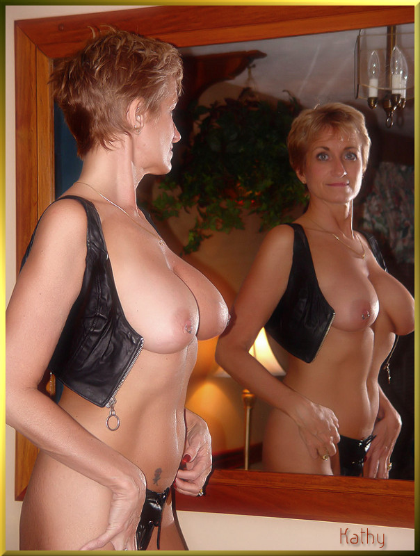 big Amateur mature tits blonde