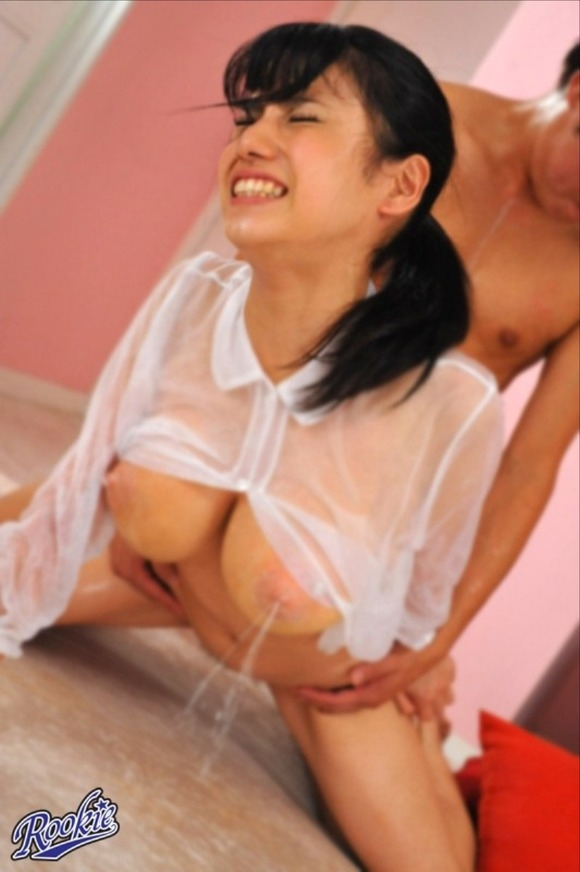 Asian babes lactating naked