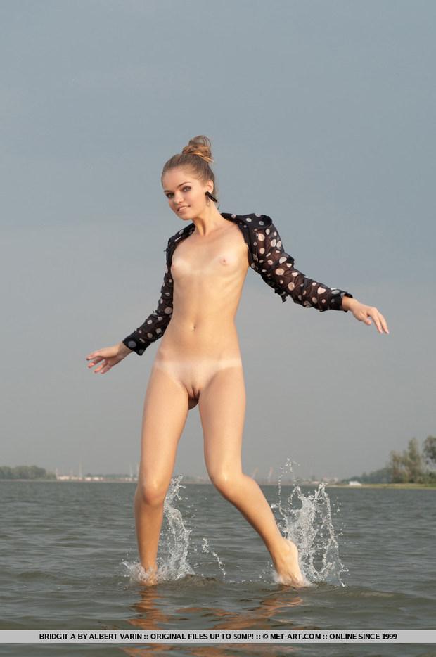 Bridgit; Blonde Hot Teen