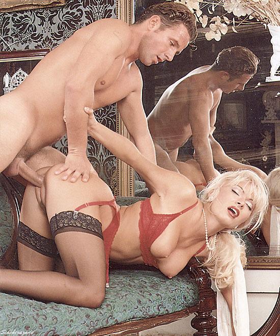 ; Blonde Hardcore Pornstar Vintage