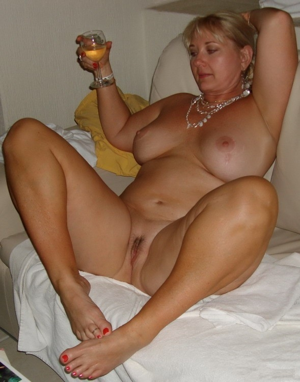 Mature Blonde Small Tits