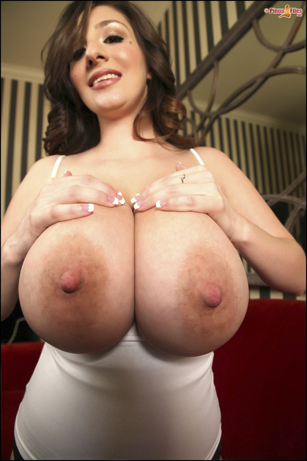 naked biggest tits in the world