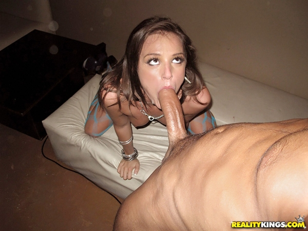 Girl plays with her asshole