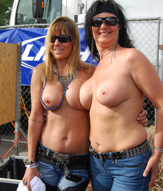 Big biker chicks