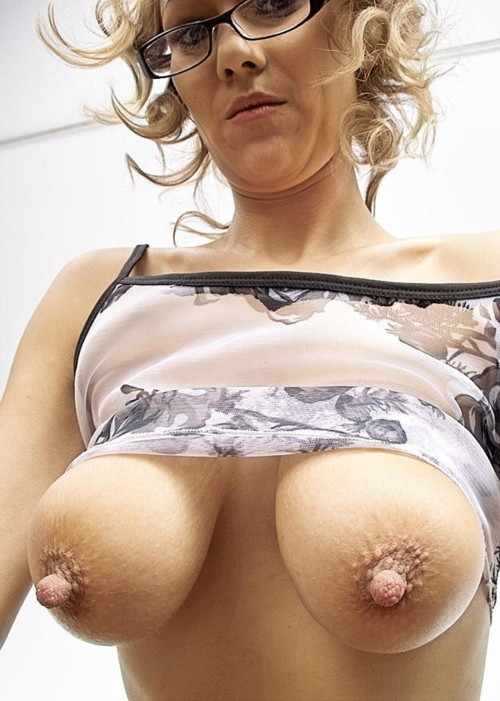 Big Natural Tits Mature Blonde