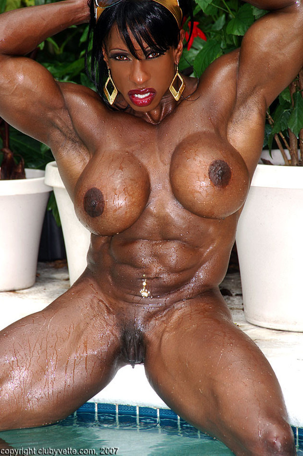 black naked female bodybuilders