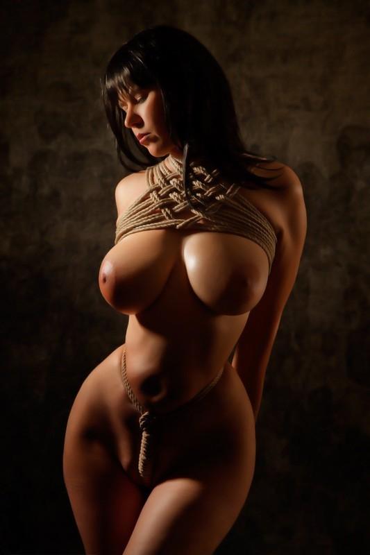 HD Shibari Breast Bondage - Slippery Onion; Bondage