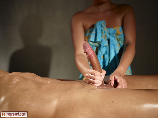 массаж большой член фото
