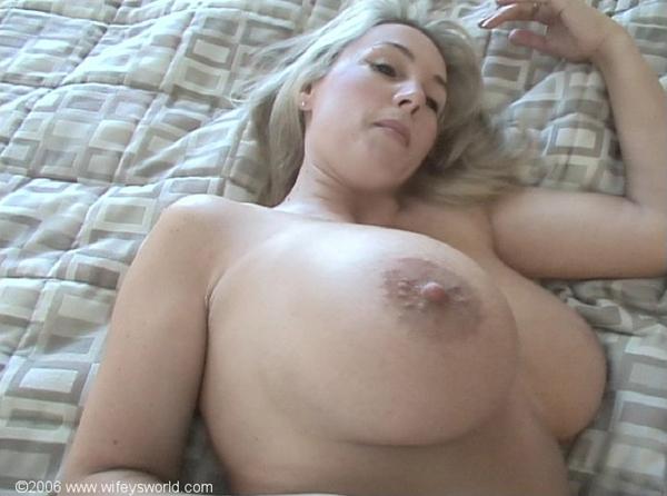 Comfort! Rather Big tit blonde milf wifey confirm. All