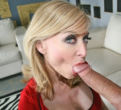 Hot milf blowjob blonde