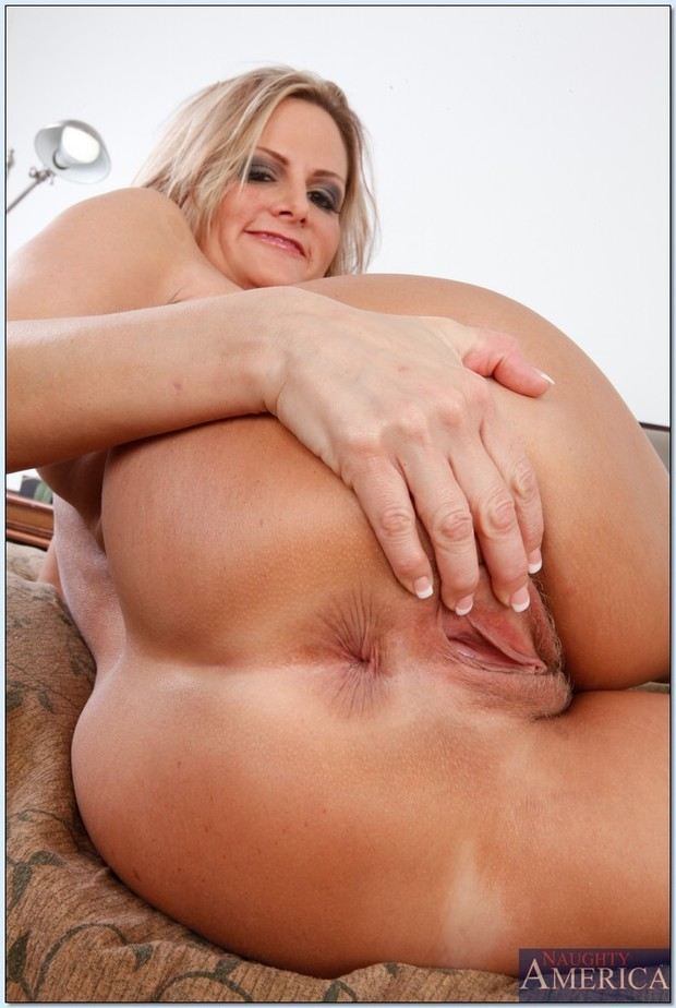 Blond big butt mature