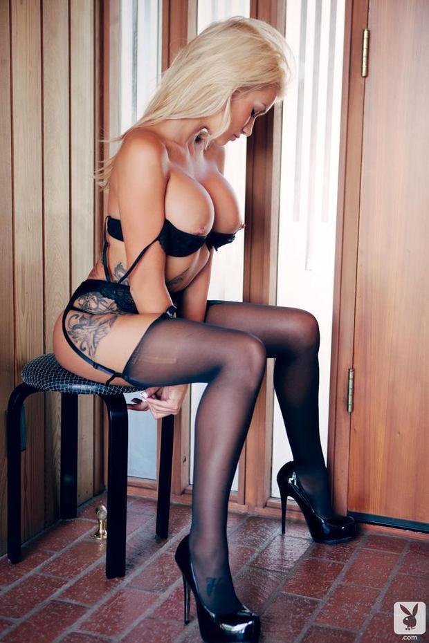...; Big Tits Blonde