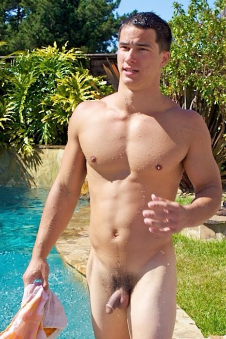 Blonde men Nude