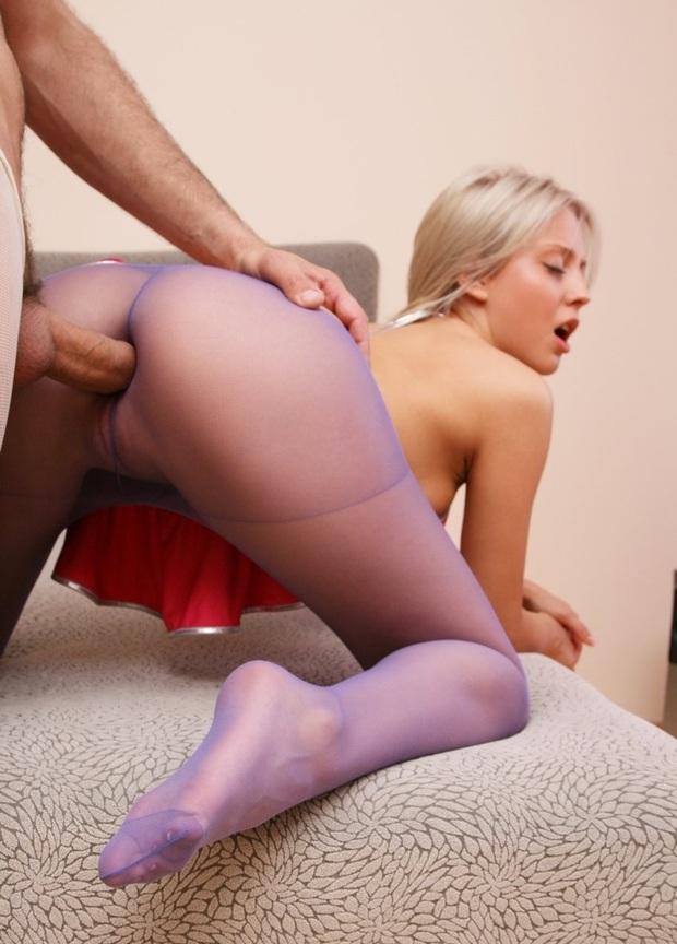 Blondes jugendlich hart anal