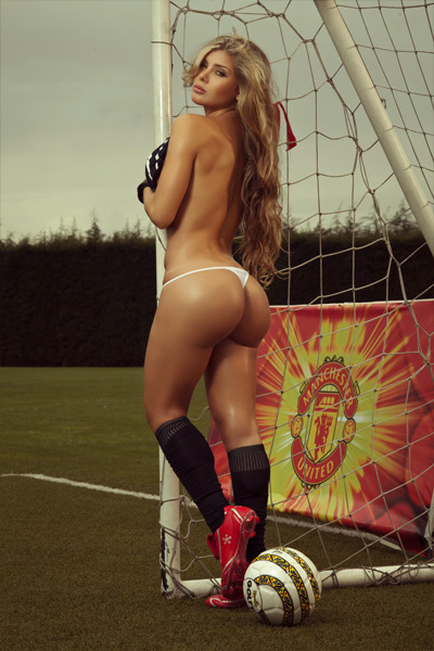 ...; Ass Athletic Babe Futbol Latina Soccer Thong
