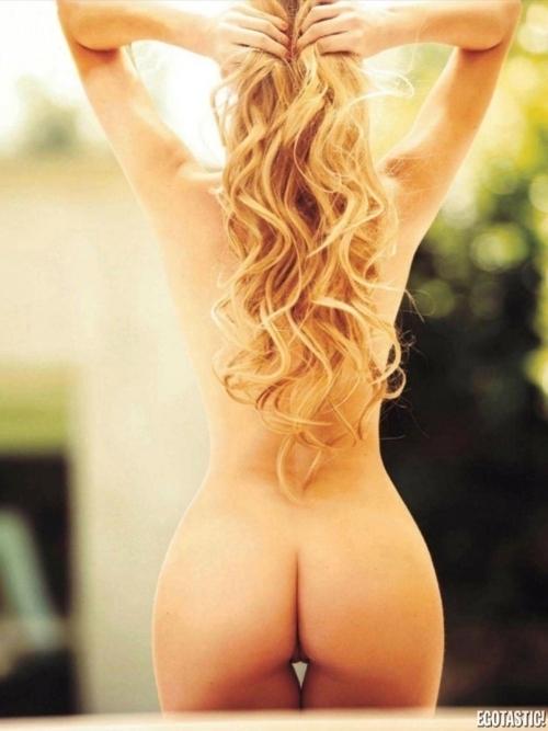 ...; Ass Blonde