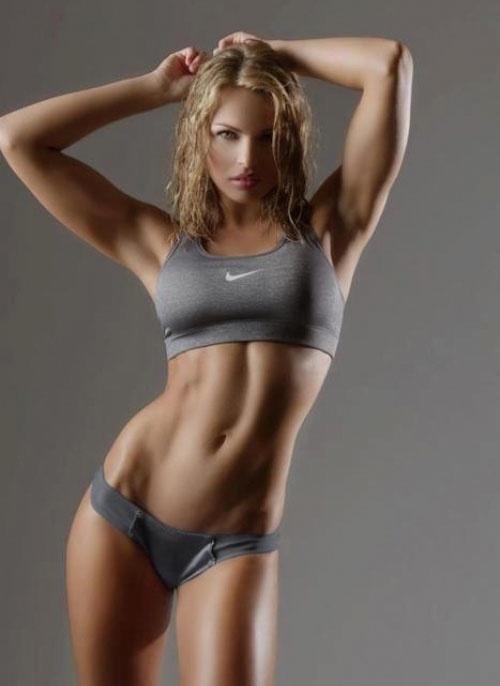 blonde  sportswear non nude