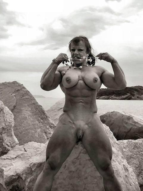 Фото голые девушки качки