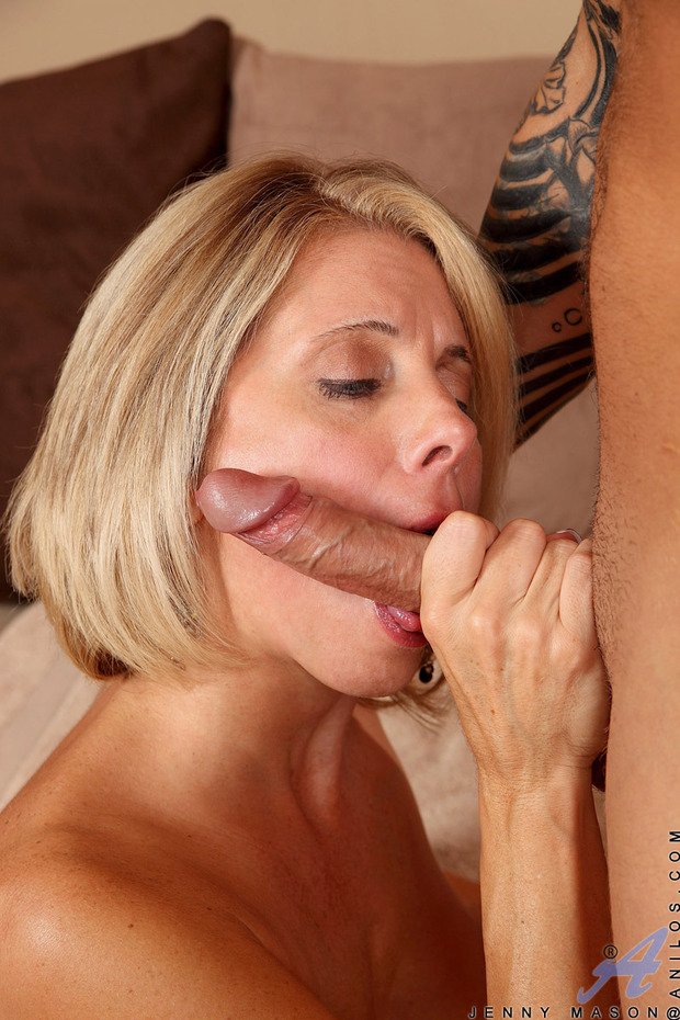 Impossible the blond milf blowjob think