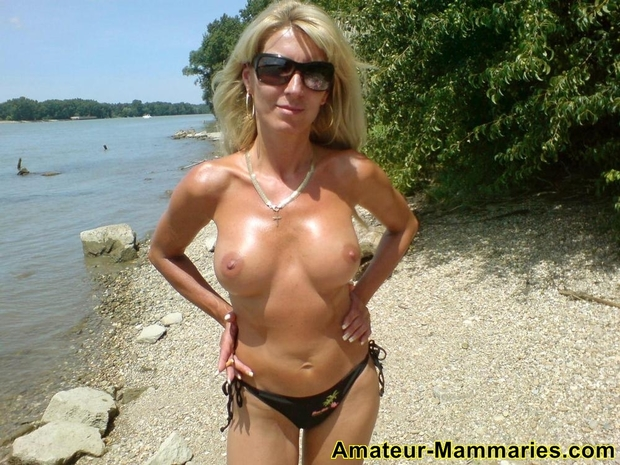 ; Big Tits Blonde