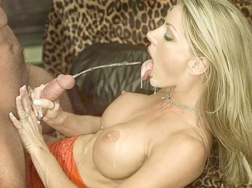 Cumshot blonde tits are right