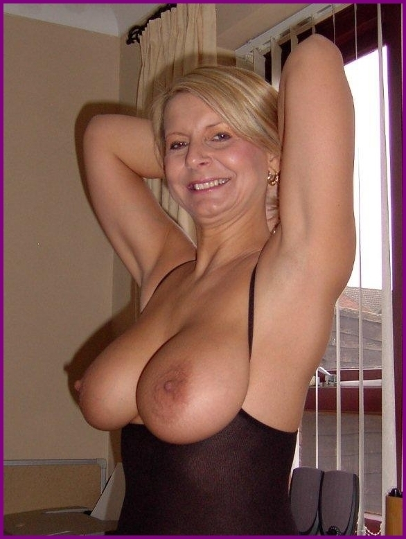 Amateur mature blonde milf big tits opinion you
