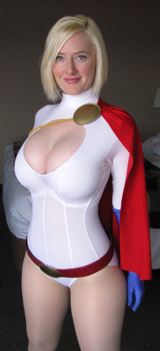 Bondage big tit superheroines