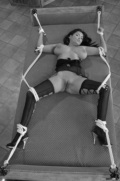 Above big tits bra bondage have