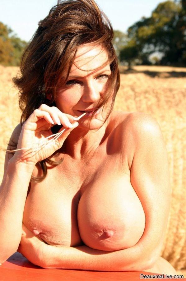 Deauxma Picture 11 of 11; Big Tits Brunette Mature MILF