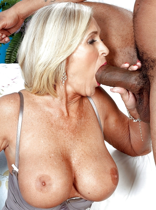 blonde blowjob mature Hot