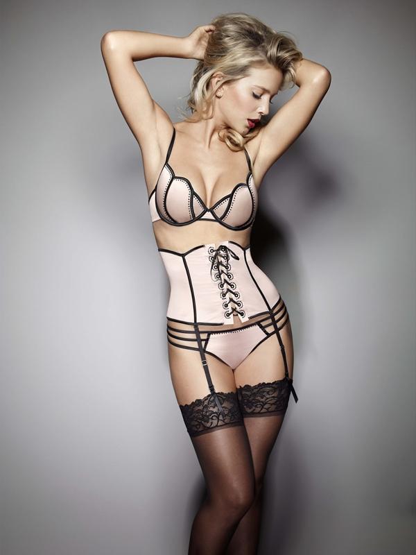 Luisana Lopilato; Blonde Celebrity Lingerie