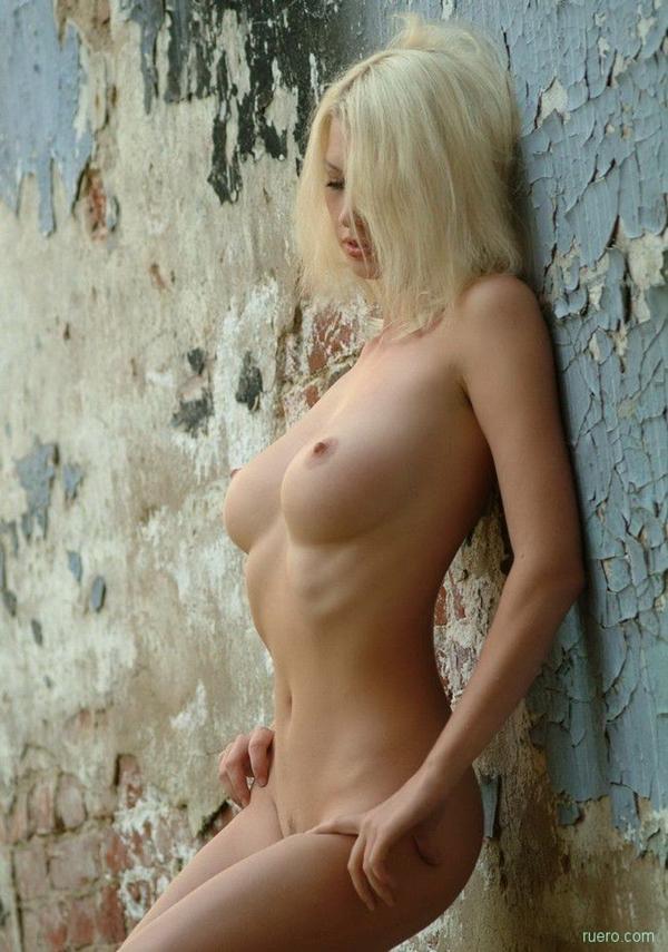 Cute; Blonde Outdoor