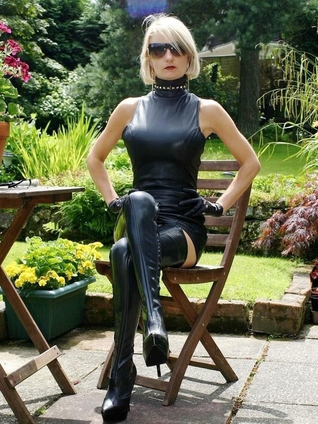 Leather Tit Mistress 57