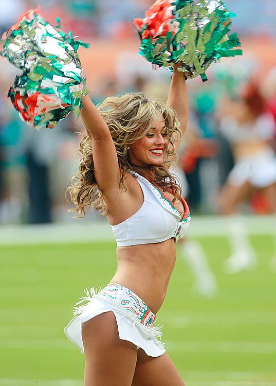 naked miami dolphin cheerleaders