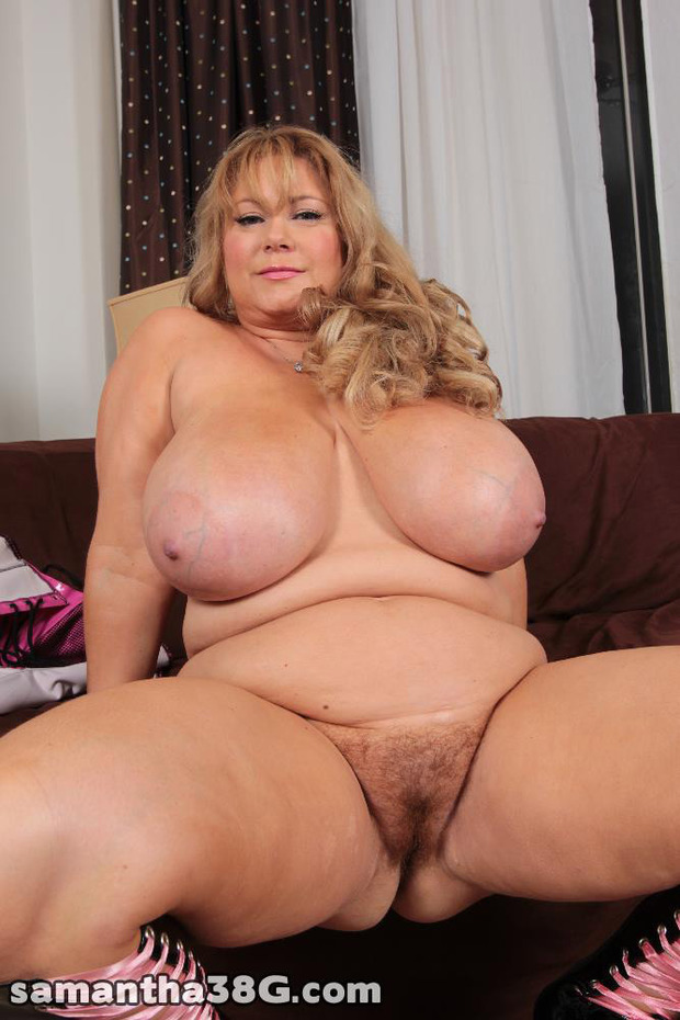 Mature blond big natural breast fucks
