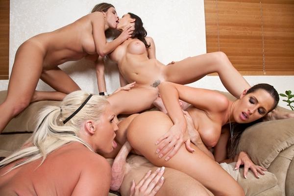 Big Tit Office Threesome