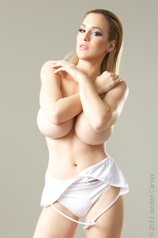 ...; Babe Big Tits Blonde Elbowbraw Jordan Carver Pale