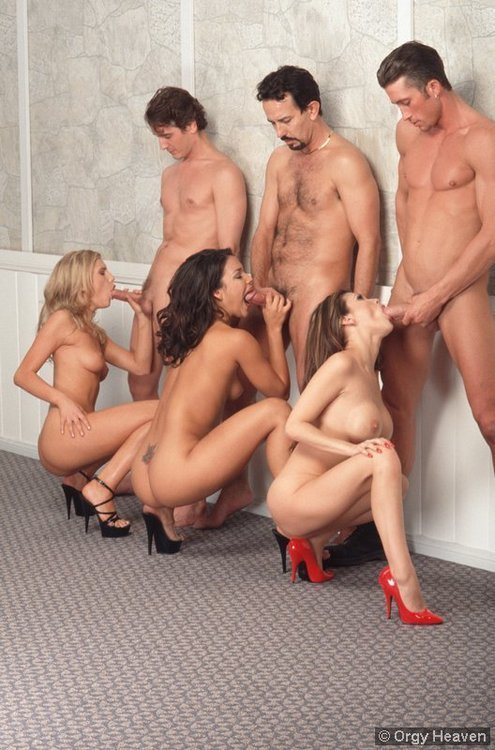 group blowing
