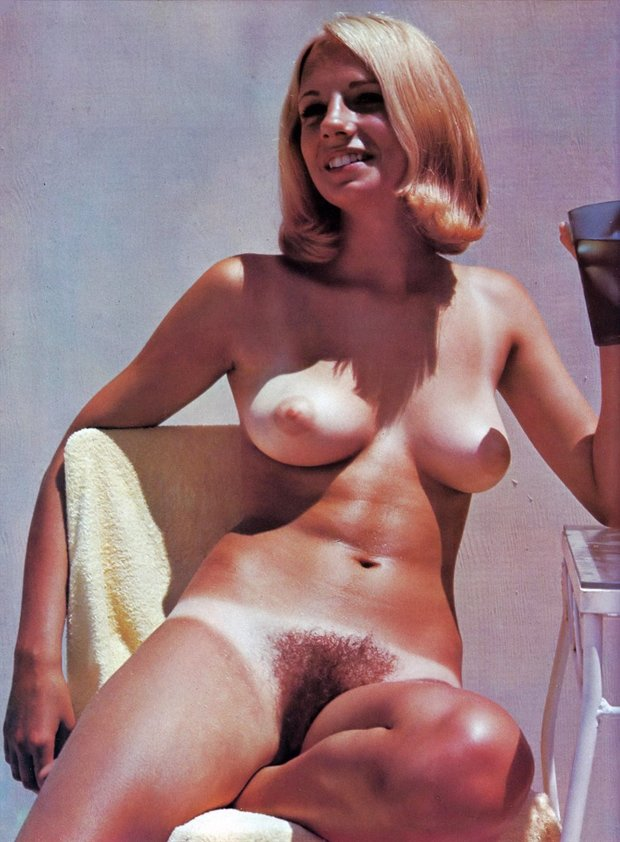 You vintage hairy blonde pussy