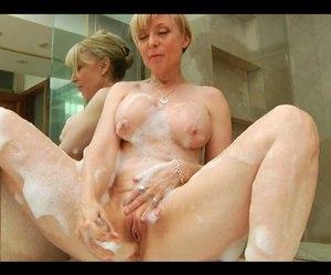 ...; Blonde Masturbation Mature Toys