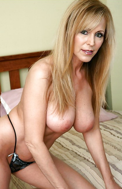 ...; Blonde Mature MILF
