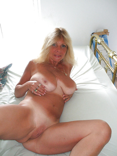 Hot tan line mature milf