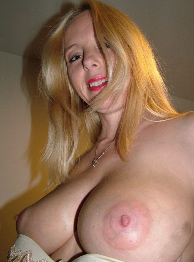 Amateur mature blonde milf big tits something