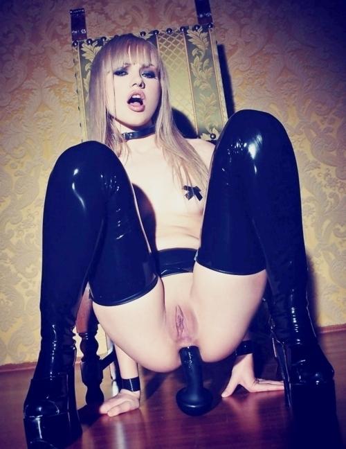 ; Anal Babe Blonde Hot