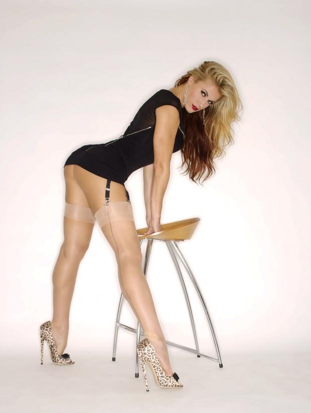 ...; Ass Athletic Babe Blonde Hot Legs Lingerie