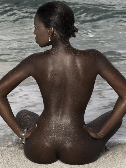 ...; Ass Beach Ebony