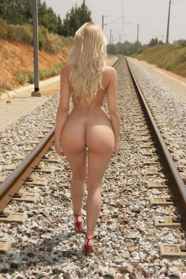 blond grils big ass