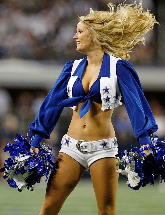 Dallas Cowboys Cheerleader Boob
