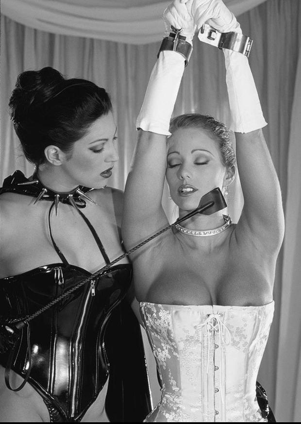 ...; BDSM Big Tits Blonde Brunette Collar Crop Lesbian Lingerie Mistress Non Nude Slave Toys