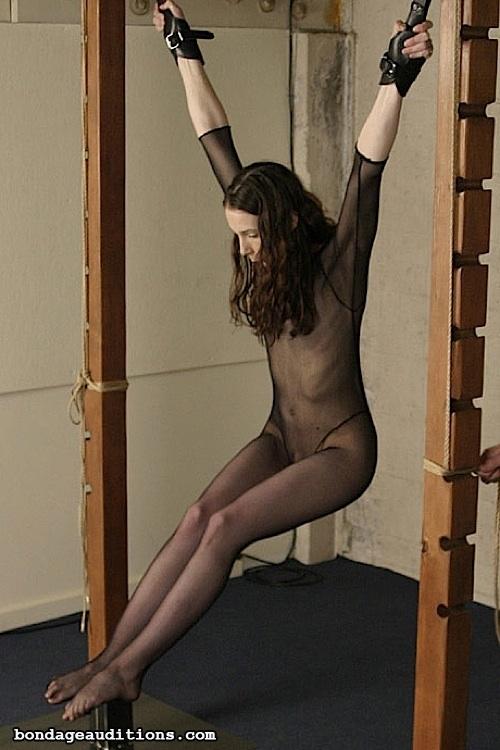 ...; BDSM Bondage Non Nude Suspension